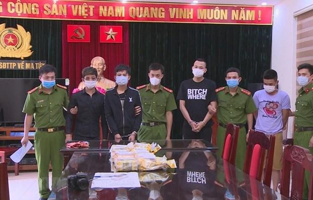 Thanh Hoa busts drug trafficking ring hinh anh 1