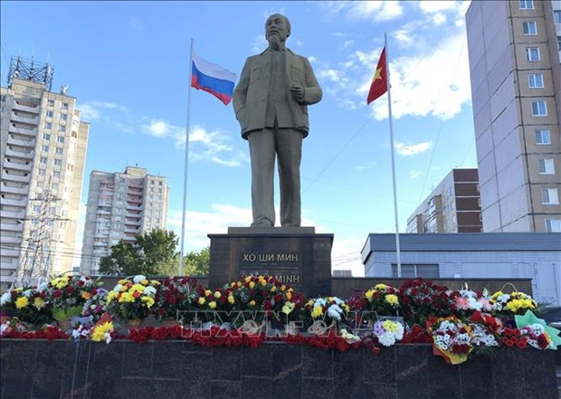 President Ho Chi Minh in memories of Russian people hinh anh 1