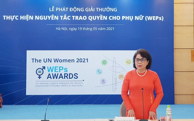 Women's Empowerment Principles Award launched hinh anh 1