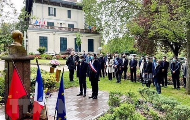 President Ho Chi Minh's birth anniversary celebrated in France hinh anh 1