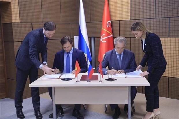 HCM City, Saint Petersburg strengthen bilateral relations hinh anh 1