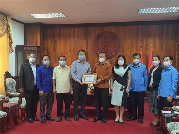 More support sent to help Laos combat COVID-19 hinh anh 1