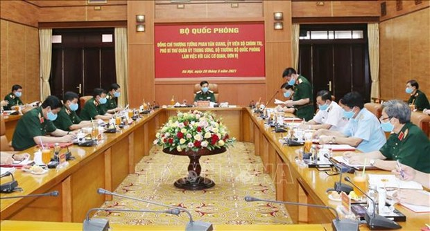 Military force ready to ensure safety for election day hinh anh 1