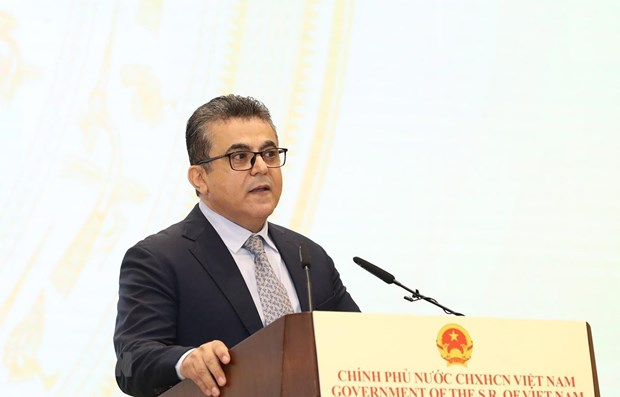 Palestinian Ambassador believes Vietnam's elections will be a success hinh anh 1