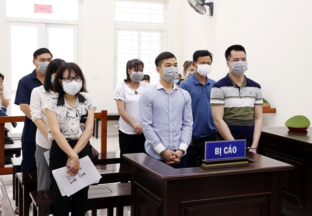 Trial opens in case of organising and brokering illegal travel to RoK hinh anh 1