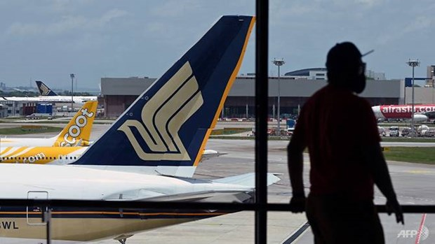 Singapore Airlines reports record annual net loss hinh anh 1