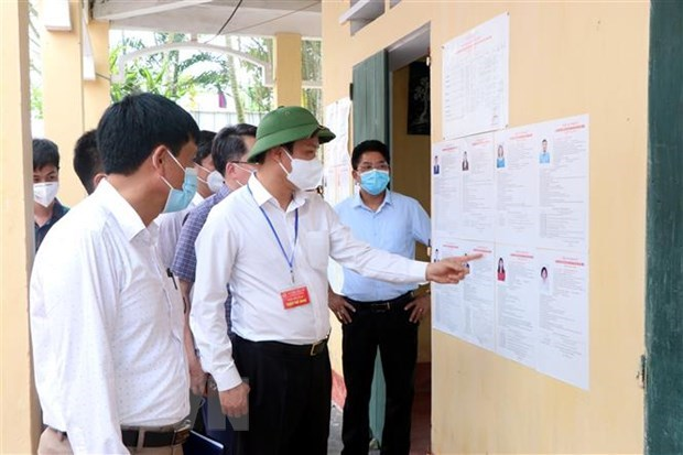Hai Duong works hard to ensure safety of general elections amid COVID-19 hinh anh 1
