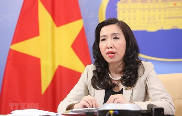 Vietnam calls for early resumption of peace process in Middle East hinh anh 1