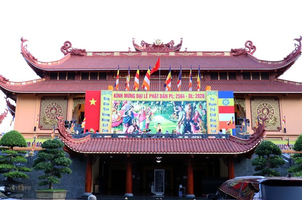 Vice President extends congratulations on Buddha's birthday in Dong Nai hinh anh 2