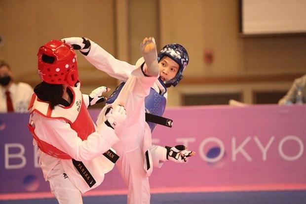 Taekwondo athlete secures Vietnam's eighth Olympic berth hinh anh 1