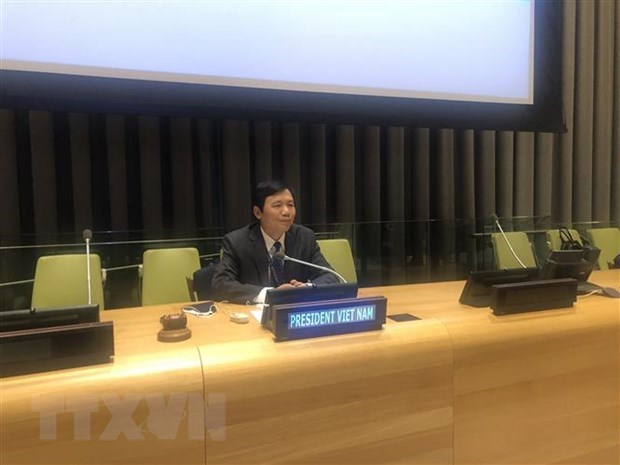 Vietnam calls for promoting political process in Libya hinh anh 1