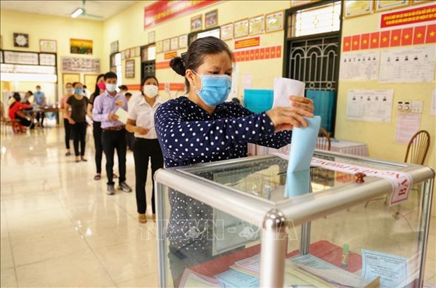 Vietnam's elections attract int'l media coverage hinh anh 1