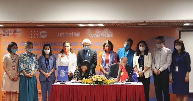 Australian-funded initiative aims to eliminate violence against women, children hinh anh 2