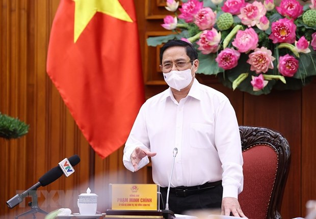 PM suggests forming COVID-19 vaccine fund hinh anh 1