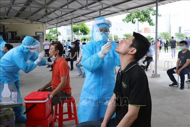 Vietnam adds 56 domestic cases to COVID-19 tally hinh anh 1
