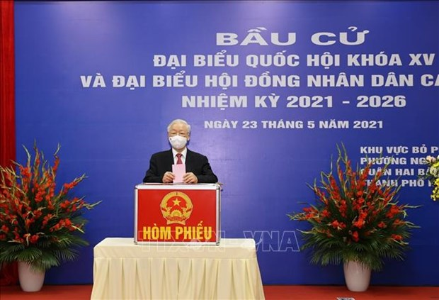 Vietnam's general elections grab international media's attention hinh anh 1