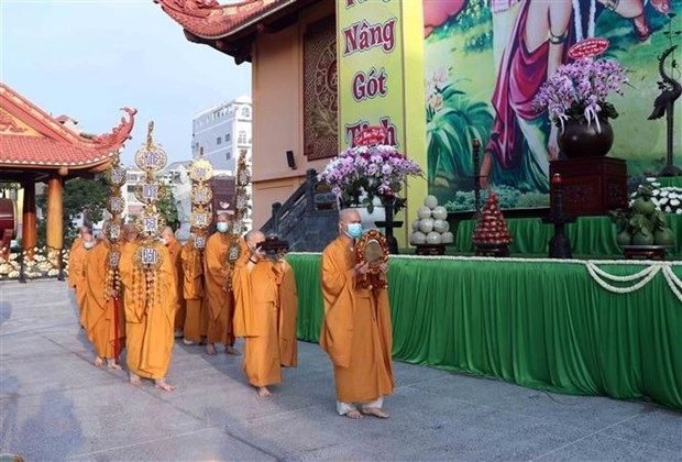 Celebrations for Buddha's birthday scaled down hinh anh 1