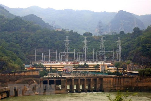 Total output at Hoa Binh Hydropower Plant hits 250 billion kWh hinh anh 1