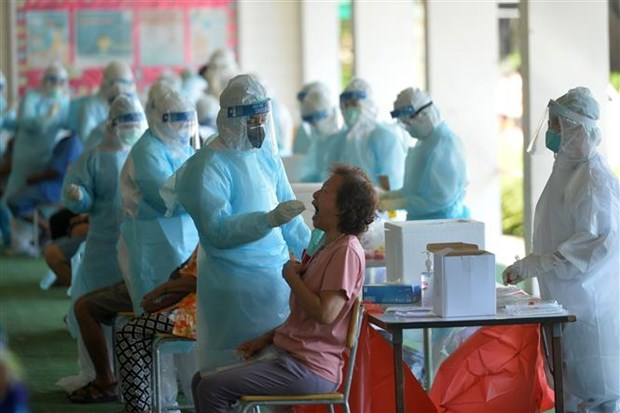 Thailand reports new COVID-19 outbreak in construction camp hinh anh 1