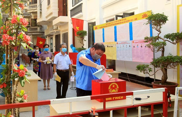People's solidarity results in successful general elections hinh anh 2