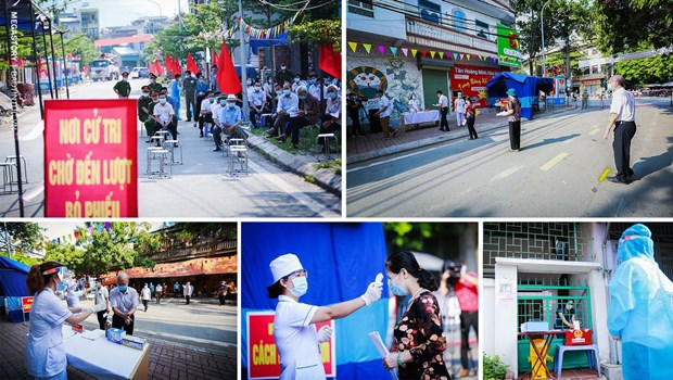 People's solidarity results in successful general elections hinh anh 6