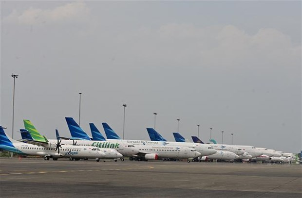 Indonesian flag carrier to halve fleet amid pressure of COVID-19 hinh anh 1