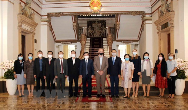 US university pledges cooperation with HCM City in human resources training hinh anh 1