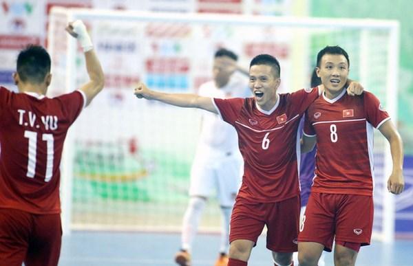 Vietnam win berth for 2021 FIFA Futsal World Cup hinh anh 1