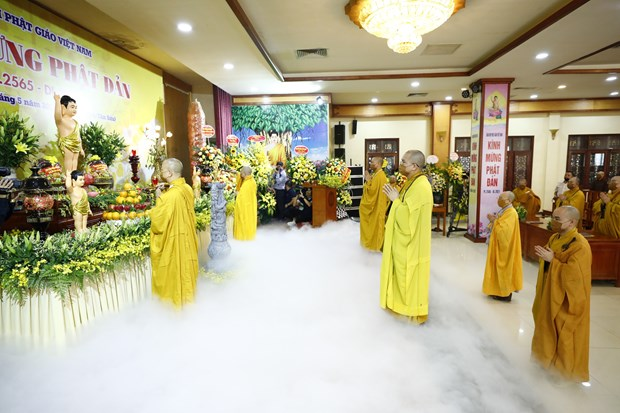 VBS marks Buddha's birthday in scaled-down ceremony hinh anh 1