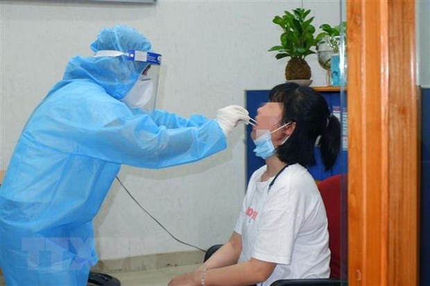 Vietnam logs 152 more COVID-19 cases, new outbreak found in HCM City hinh anh 1