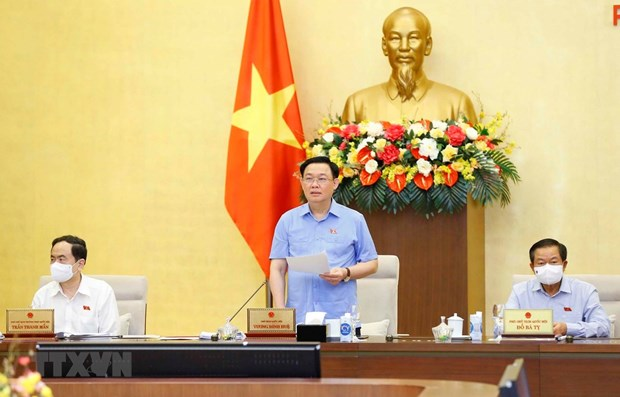 NA Chairman: voter turnout reaches 99.57 percent hinh anh 1