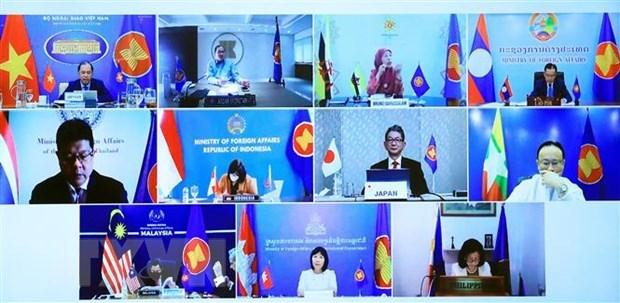 36th ASEAN-Japan forum held online hinh anh 2