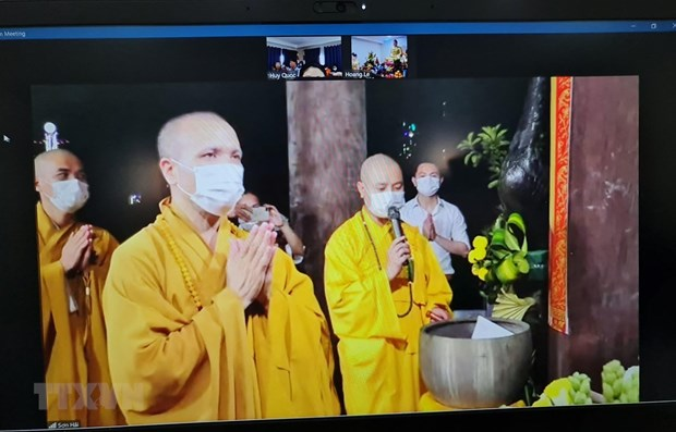 Vietnamese in Mozambique celebrate Buddha's birthday hinh anh 1
