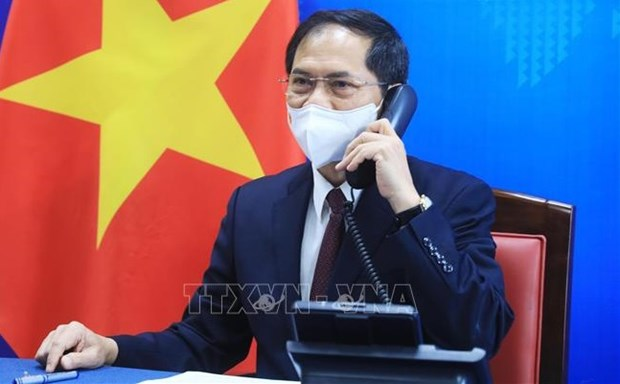 Vietnam, US to further intensify bilateral relations: Top diplomats hinh anh 1