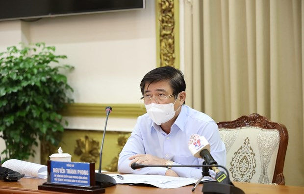 HCM City tightens pandemic control at industrial parks over increasing cases hinh anh 1