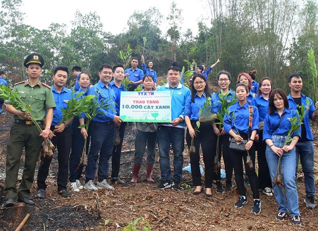 Report on youth action for climate change in Vietnam debuts hinh anh 1