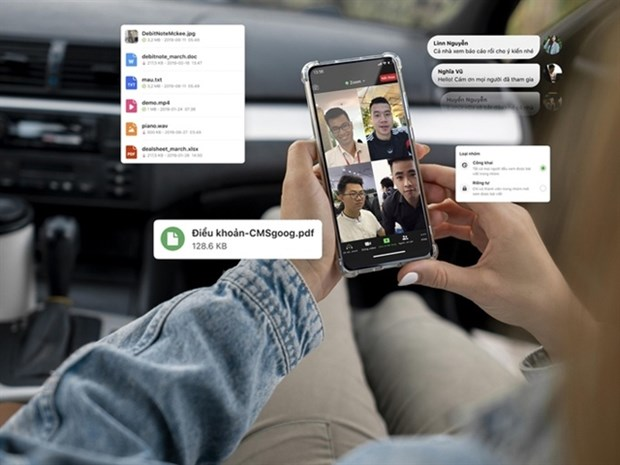Local social network Gapo launches working platform for businesses hinh anh 1