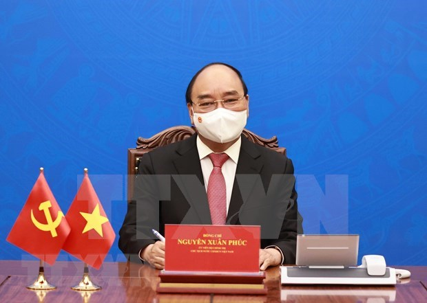Vietnamese President sends letter to US counterpart hinh anh 1