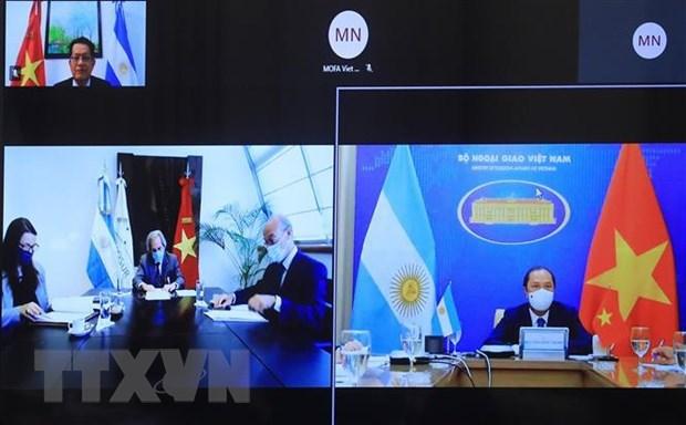 Vietnam, Argentina seek ways to strengthen bilateral ties hinh anh 1