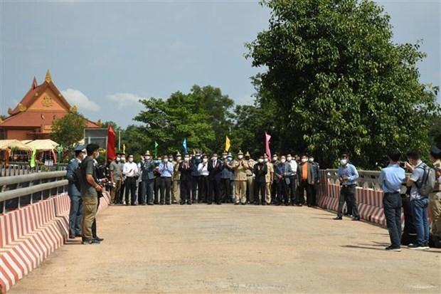 Vietnam, Cambodia open new border gate pair hinh anh 1