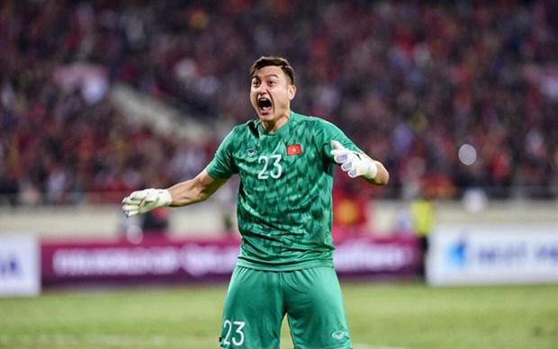 Star goalkeeper Lam to miss World Cup qualifiers hinh anh 1