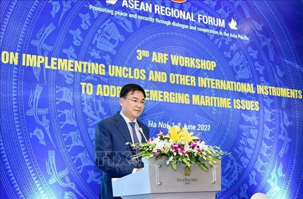 ARF workshop highlights significance of 1982 UNCLOS hinh anh 1