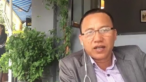 Hanoi police puts anti-State propagandist on wanted list hinh anh 1