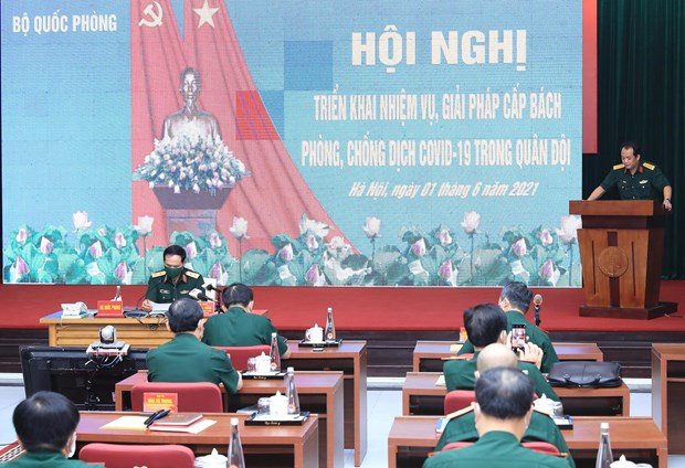 Army fights COVID-19 at higher level: Deputy Minister hinh anh 2