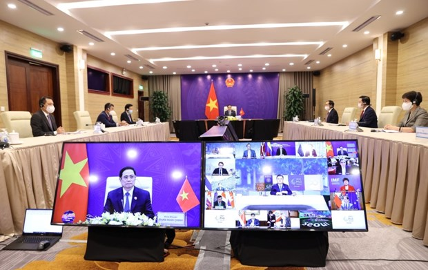 Prime Minister proposes six solutions at second P4G Summit hinh anh 1