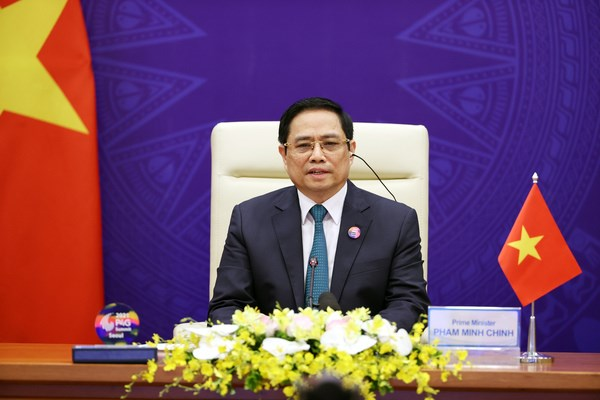 Remarks by PM Pham Minh Chinh at 2021 P4G Seoul Summit hinh anh 1
