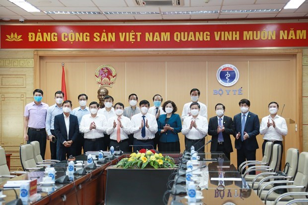 Managing board of COVID-19 vaccine fund established hinh anh 1
