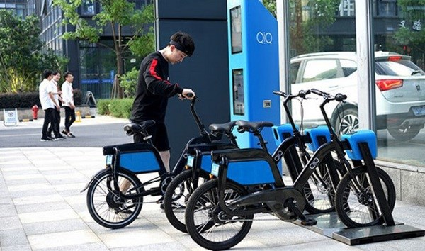 Hanoi to pilot rental of e-bike linking with bus system in Q3 hinh anh 1