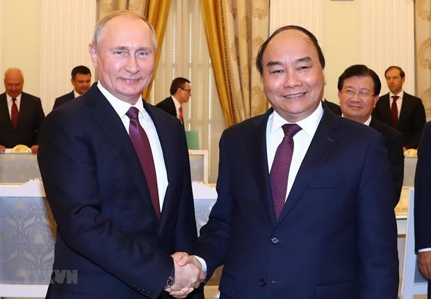 President sends letter to Russian counterpart hinh anh 1