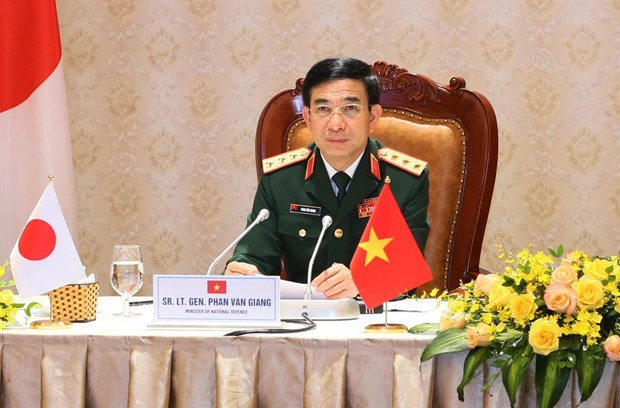 Vietnam, Japan to augment military medicine cooperation in COVID-19 combat hinh anh 1